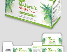 ssandaruwan84 tarafından Nature's Happy Cannabis Tea - Box design için no 53