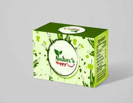 ProgDesigner01 tarafından Nature's Happy Cannabis Tea - Box design için no 36