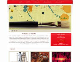 #6 para Website Design and programming for Painter Company por patil1987