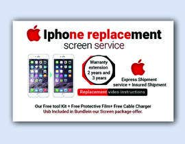 #25 for Ecover and banner for iPhone Replacement screen service af akmalmahmud637