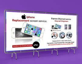 #40 for Ecover and banner for iPhone Replacement screen service af akmalmahmud637