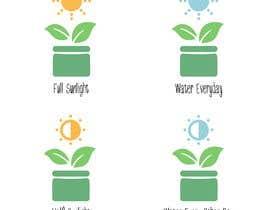 Nro 1 kilpailuun Basic Plant Icon Designs needed käyttäjältä Novomiro