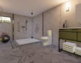 #3 for Luxury bathroom design - 1 by Artographr
