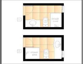 #2 for Luxury bathroom design - 1 by RosaEjeZ