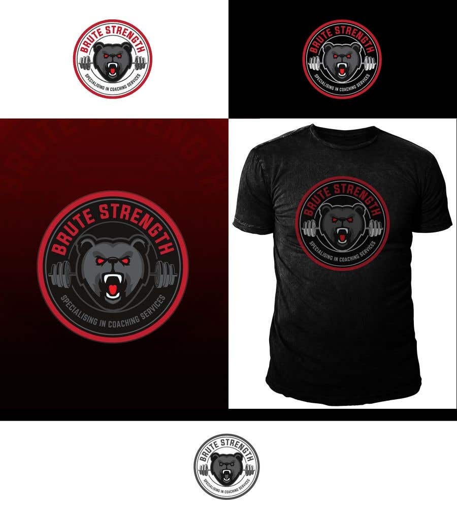 Konkurrenceindlæg #145 for Logo Design - Brute Strength