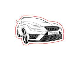 #15 for Car Lines Tracing for laser engraved keychains by Masia31
