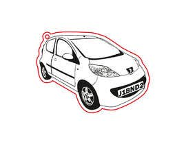 #13 for Car Lines Tracing for laser engraved keychains by Anojka