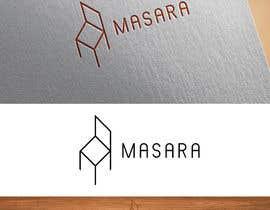 "nº 278 pour Create logo ""MASARA"" -  manufacturer and online shop of tables and chairs par Miszczui"