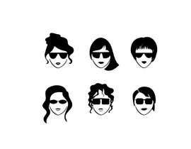 nº 6 pour Create icon / Hipster women at bachelorette party par TSHIRTTRAND