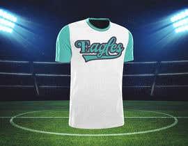 #80 untuk Need a baseball script font created for a t-shirt oleh FARUKTRB