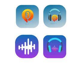 #117 pentru Radio player app logo de către poranmia2222