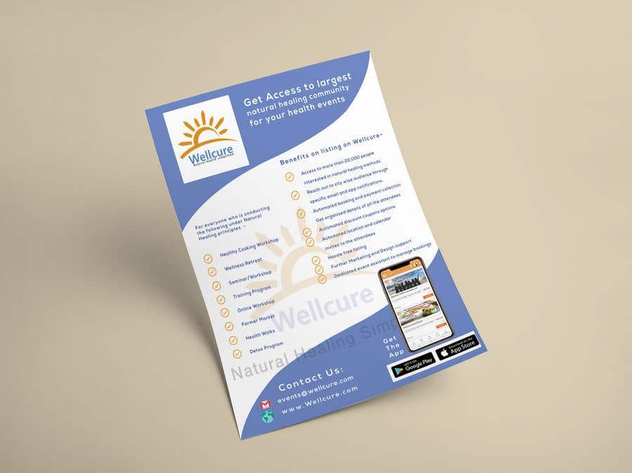 Конкурсная заявка №23 для EVENT INVITATION POSTER REQUIRED FOR WELLCURE.COM