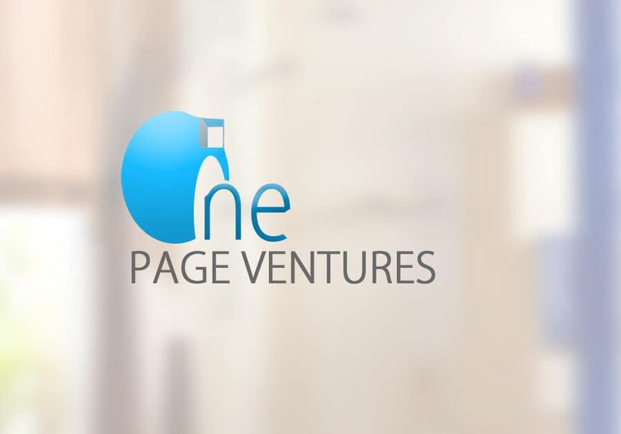Inscrição nº                                         143                                      do Concurso para                                         Logo Design for OnePageVentures - start up company