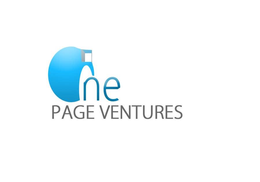 Inscrição nº                                         144                                      do Concurso para                                         Logo Design for OnePageVentures - start up company