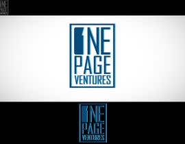 #138 cho Logo Design for OnePageVentures - start up company bởi logoustaad