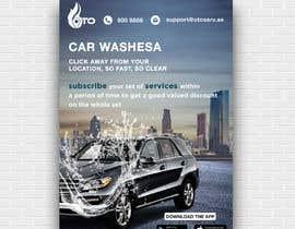 Nro 9 kilpailuun Create attractive poster for car wash monthly subscription käyttäjältä TohaAshrak