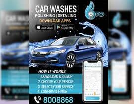 Nro 19 kilpailuun Create attractive poster for car wash monthly subscription käyttäjältä shorna99