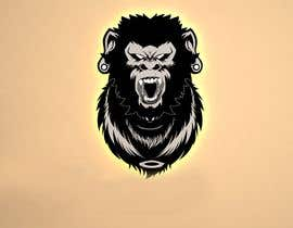 #16 pentru Something wit a a gorilla. Smoke maybe coming off the gorilla. Chains hanging of the wrists of the gorilla. Use all words somewhere in logo. Gorilla must look strong and powerful. Have the world or globe in logo. Use creativity as best as possible. de către summrazaib22