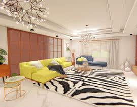 #47 for I want a modern design for my living room and i want to include in it a coffe bar and some wood style av alphymc
