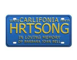 #15 pentru Digital Image of a License Plate de către legalpalava