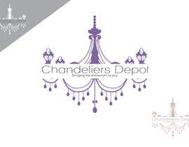 #41 para Logo Design for Chandeliers Site por Blissikins