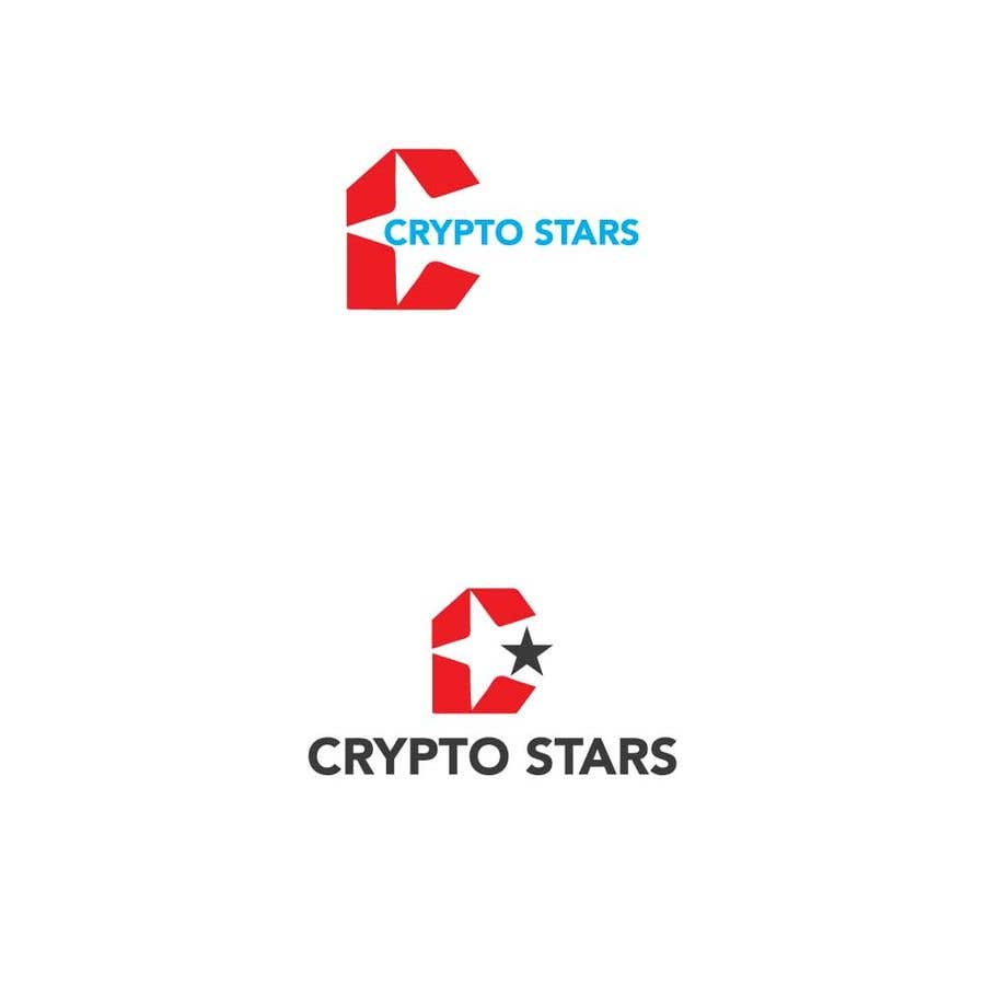 """Proposition n°355 du concours DESIGN me Logo for """"Crypto Stars"""""""