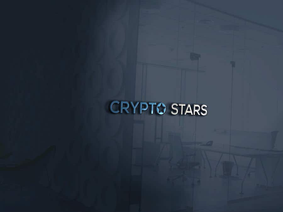 """Proposition n°27 du concours DESIGN me Logo for """"Crypto Stars"""""""
