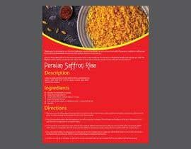 #25 for Recipe Design Brochure/Document by shahfakir