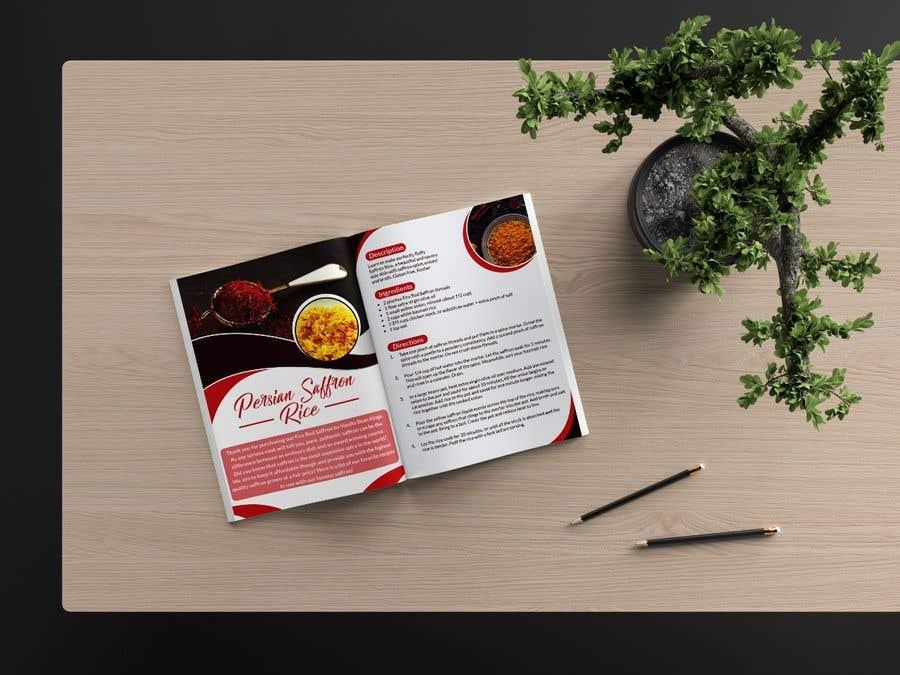 Penyertaan Peraduan #33 untuk Recipe Design Brochure/Document