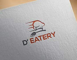 "#75 for The logo should comprise of bright colors preferably orange with other additions. The name of the cafe would be ""D' Eatery"". The type of food would be beverages along with street food. The cafe will be set up on a shipping container. av khinoorbagom545"