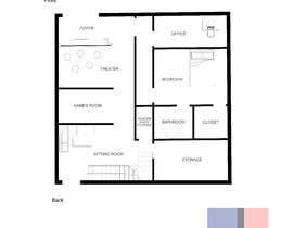 Nro 6 kilpailuun Basement Design with Simple Staircase - Great Project! käyttäjältä akatbeh