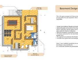Nro 8 kilpailuun Basement Design with Simple Staircase - Great Project! käyttäjältä sofoniasmelesse