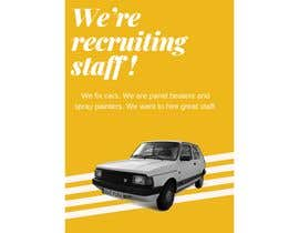mehedibondhon tarafından I need a job add. We're recruiting staff. We work in the automotive industry. Looking for a few words. Effortless and catchy. için no 11