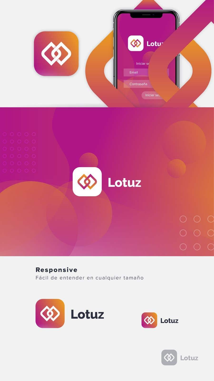 Kilpailutyö #80 kilpailussa Crear Imagen Corporativa de Lotuz