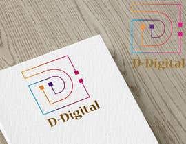 Nro 4 kilpailuun logo for a new company the compnay logo is D-Digital or D Digtal with animation with logo name käyttäjältä akhi9117