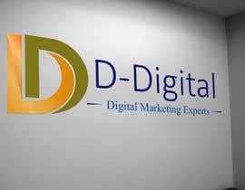Nro 8 kilpailuun logo for a new company the compnay logo is D-Digital or D Digtal with animation with logo name käyttäjältä akhi9117
