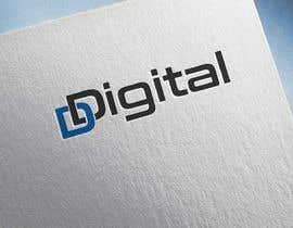 Nro 20 kilpailuun logo for a new company the compnay logo is D-Digital or D Digtal with animation with logo name käyttäjältä ArenaSunny