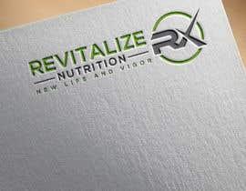 #290 untuk Revitalize Nutrition Rx logo design oleh Designart009