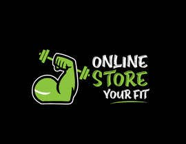 #9 for Design a logo for a new fitness online store by HashamRafiq2