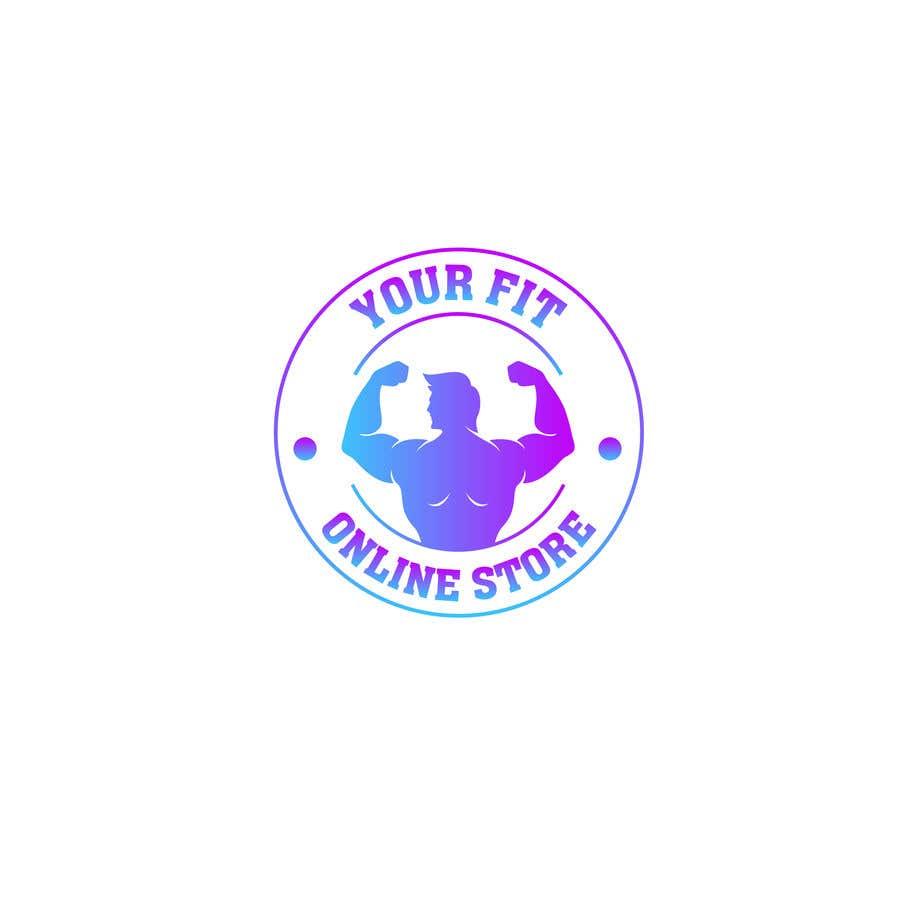Конкурсная заявка №32 для Design a logo for a new fitness online store