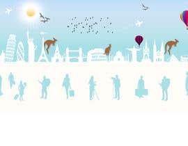 oceanganatra tarafından Design a Banner (header image) for my travel blog için no 8