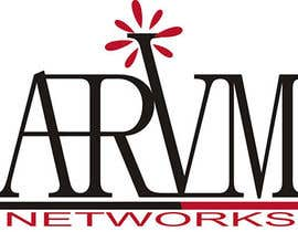 #121 para Logo Design for ARVM Networks por JoeBrat81