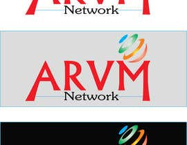 #58 para Logo Design for ARVM Networks por raihanrabby