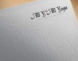 #69 cho Logo for yoga studio bởi eslamboully