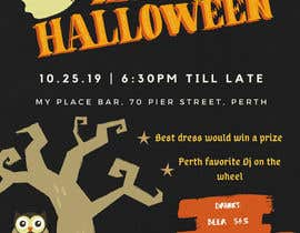 nº 61 pour design a poster for HALLOWEEN Party par TheMAzhar