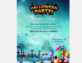 nº 64 pour design a poster for HALLOWEEN Party par asishkhan