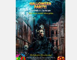 nº 65 pour design a poster for HALLOWEEN Party par asishkhan