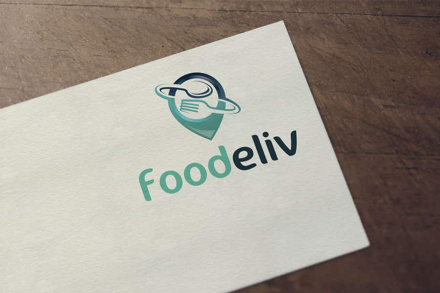 Kilpailutyö #135 kilpailussa Create a logo for a food delivery service : foodeliv
