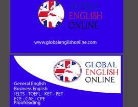 nº 18 pour Design some Business Cards for an English School par grma64