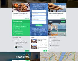 #8 for Webpage - MOCK UP - Layout - User Friendly - mobile - business/company - service by SK813